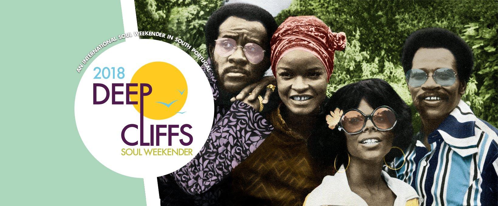 Deep Cliffs Soul Weekender 2018 flyer