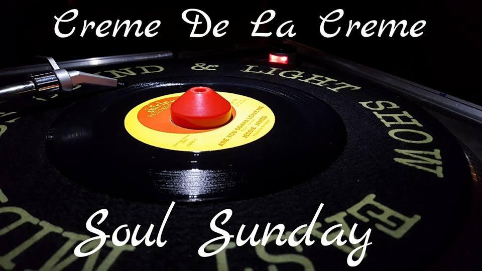 Creme De La Creme Sunday Chillout flyer
