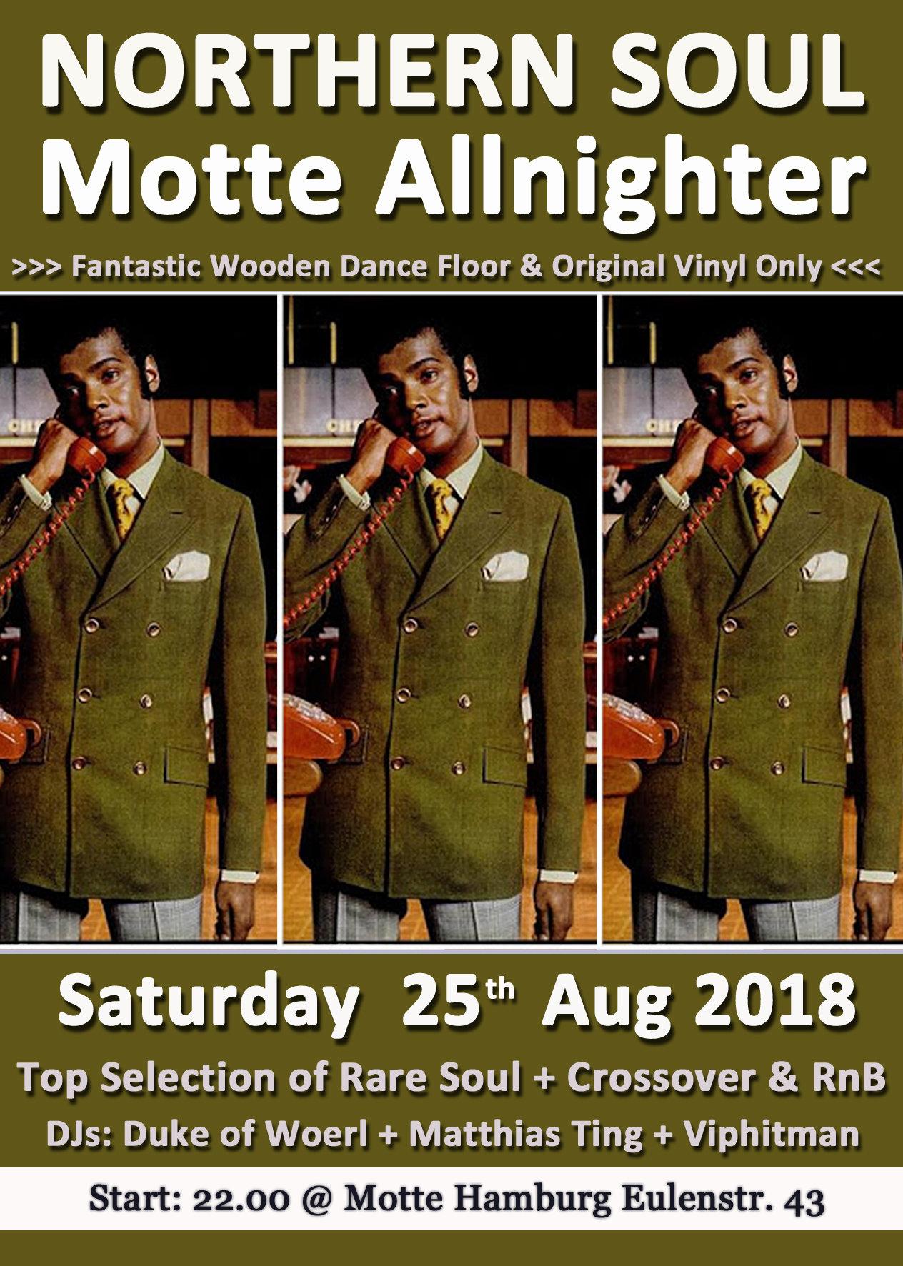 Motte Allnighter flyer