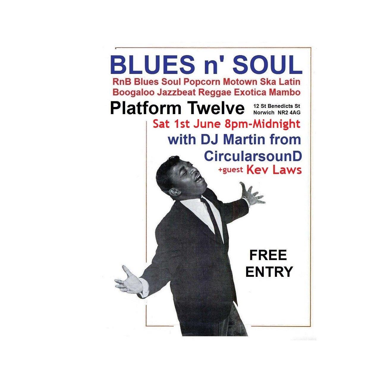Blues N Soul P12 flyer