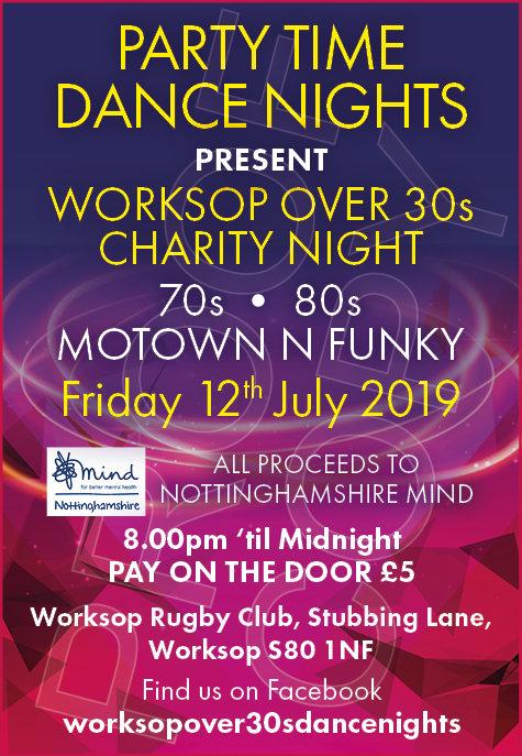 Worksop Motown N Funk Disco flyer