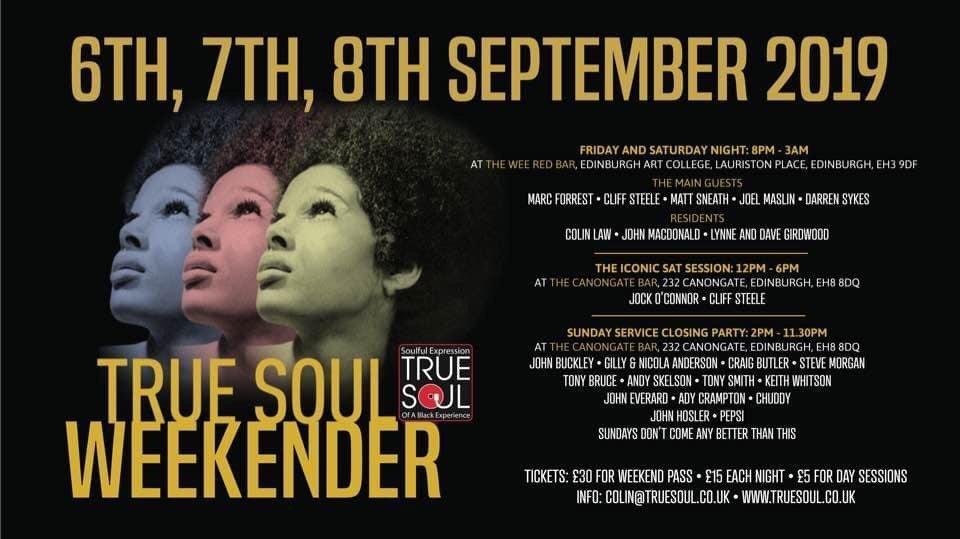 True Soul flyer