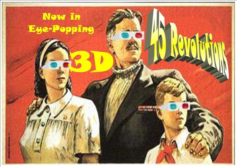 45 Revolutions flyer