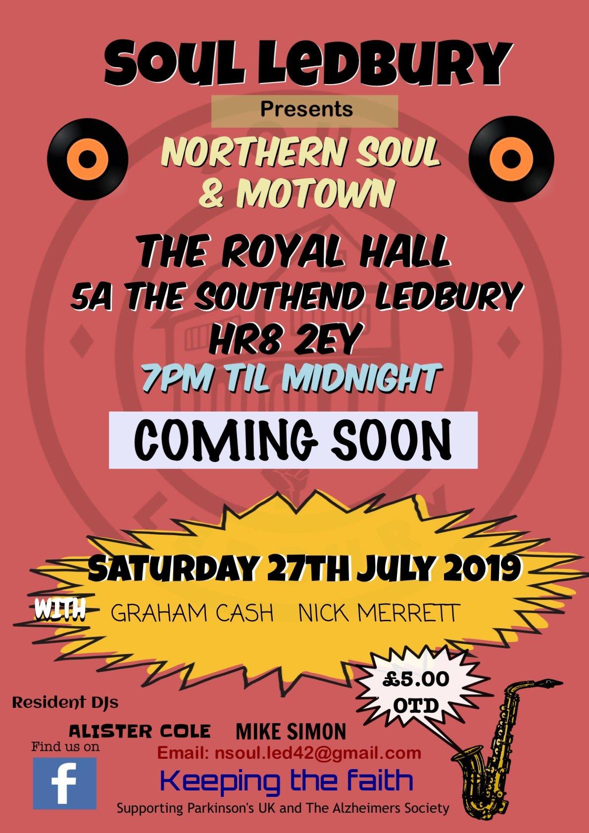 Soul Ledbury flyer