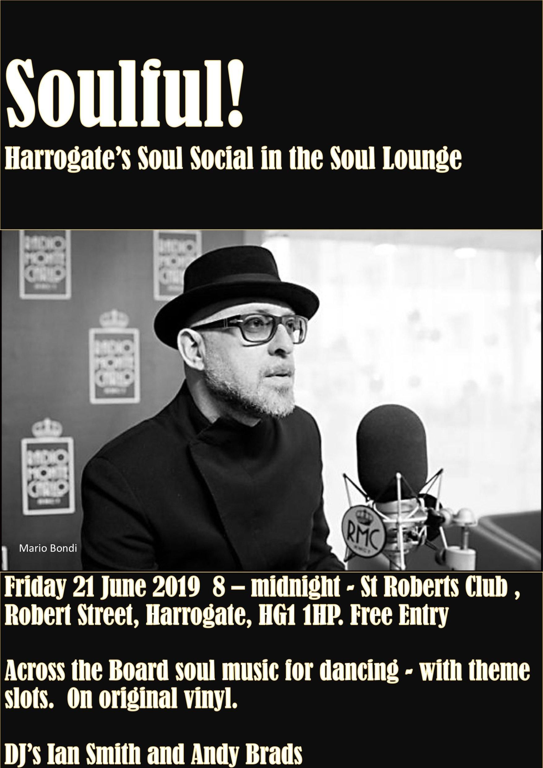 Soulful  Harrogate flyer