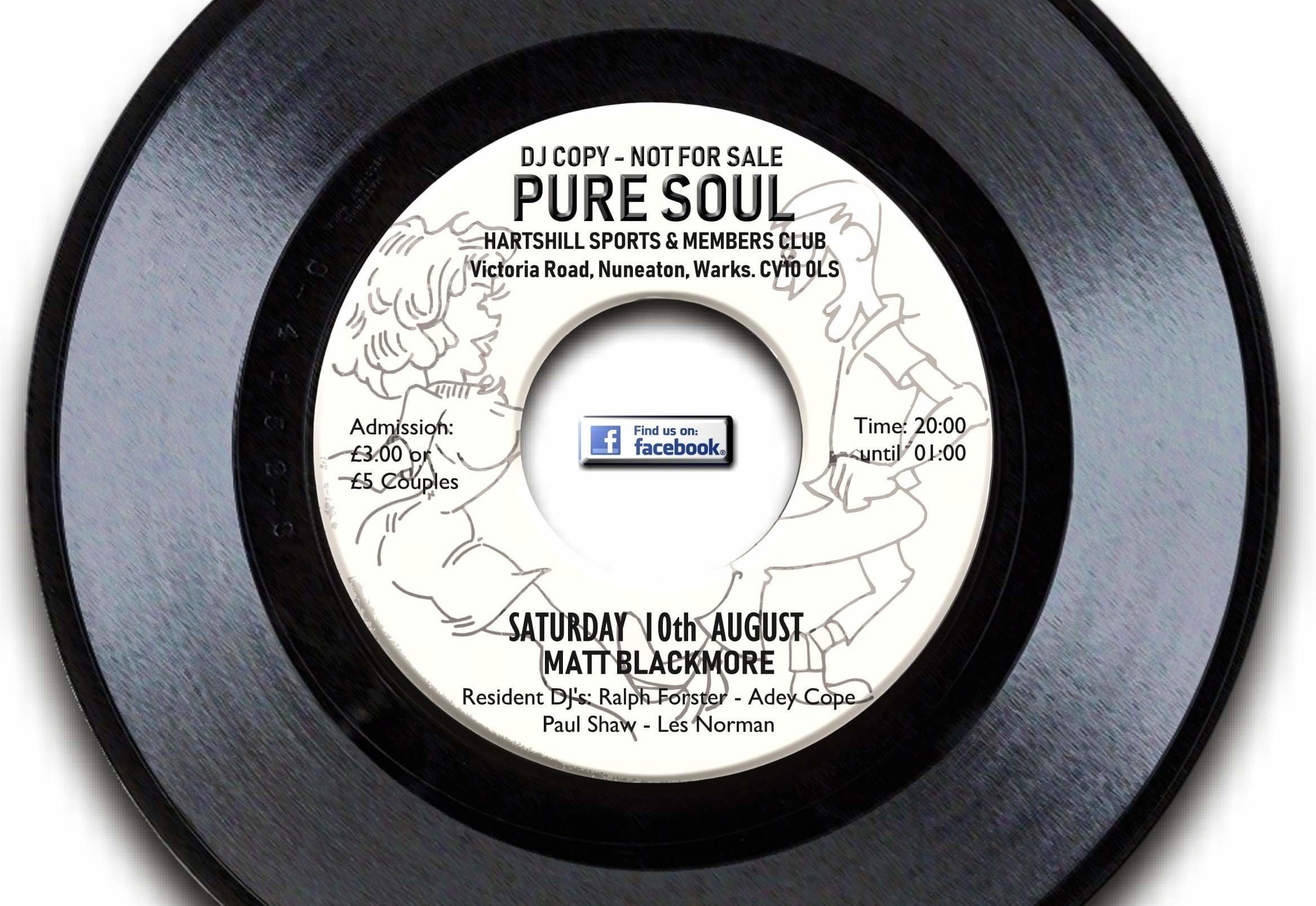 Pure Soul  Nuneaton flyer