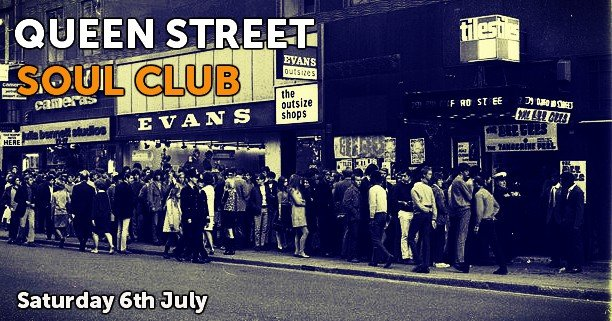 Queen Street Soul Club flyer
