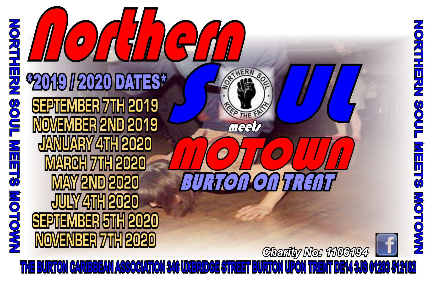 Northern Soul Meets Motown flyer