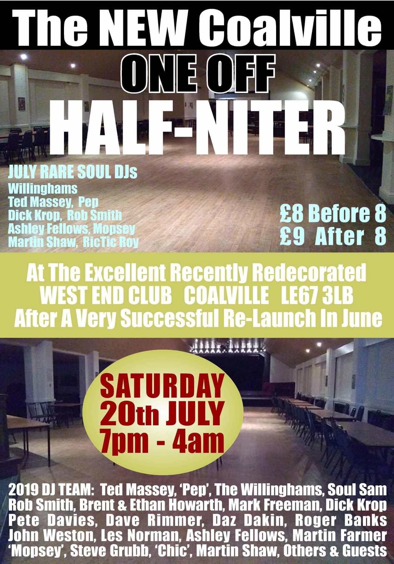 The New Coalville Niter flyer