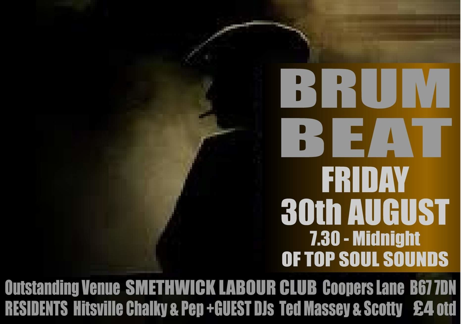 Brum Beat The Sandwell Soul Session flyer