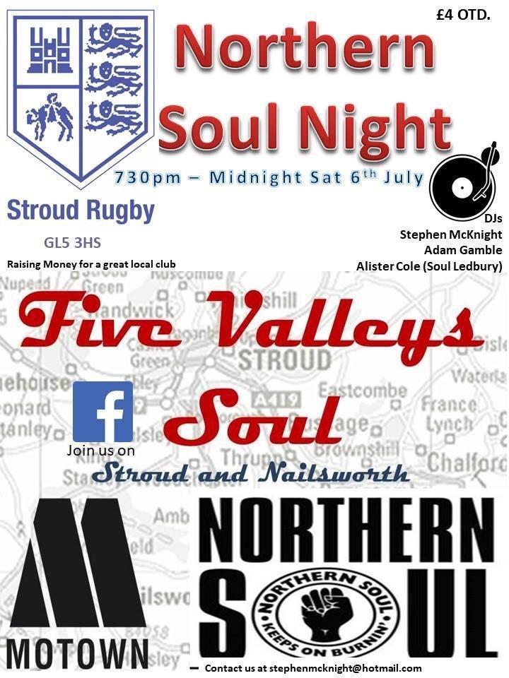 Five Valleys Soul flyer