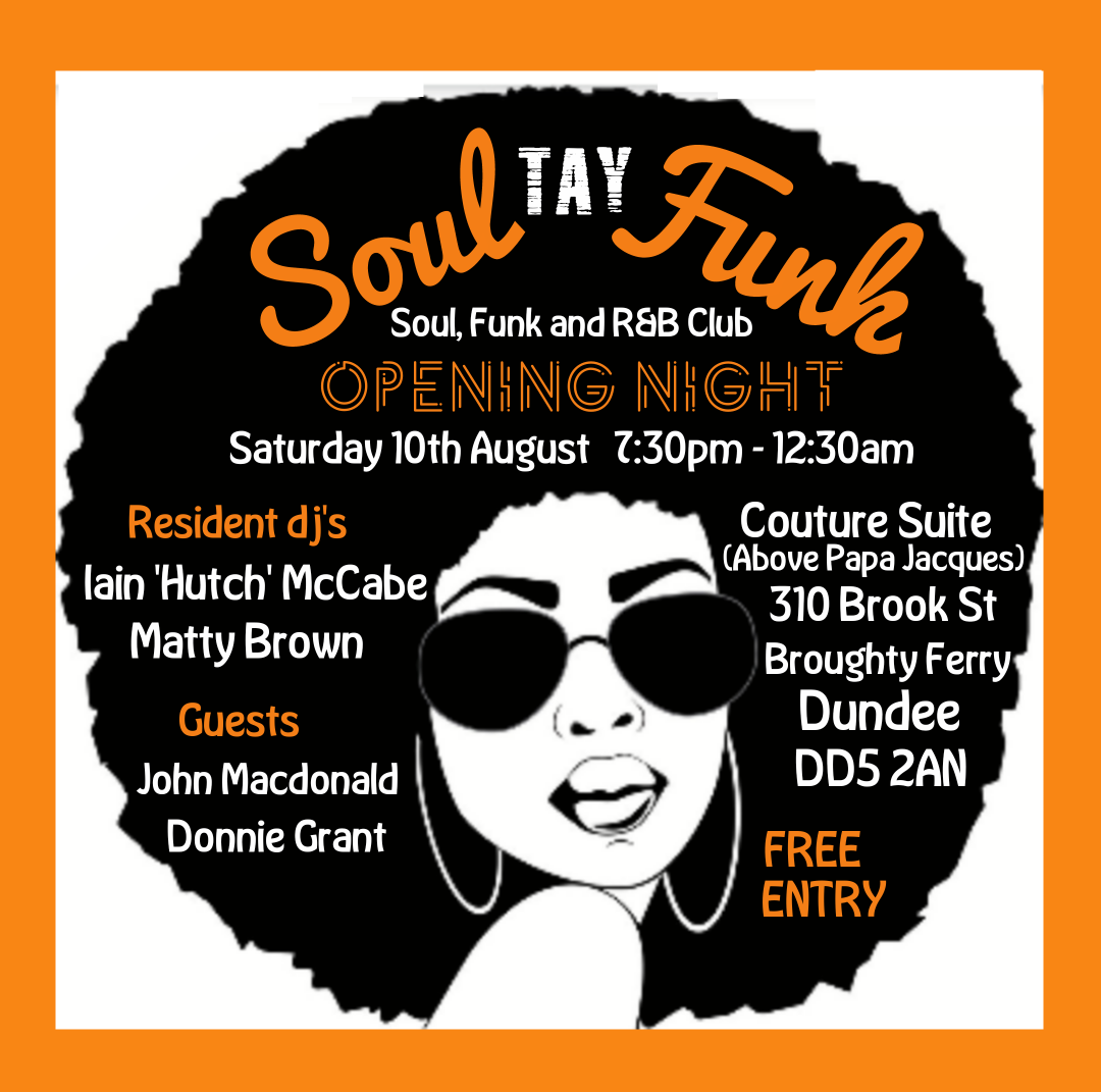 Soul Tay Funk Dundee flyer