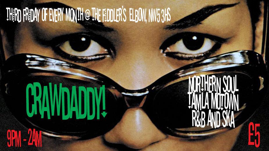 Crawdaddy With Guest Dj Lisa Hurley flyer