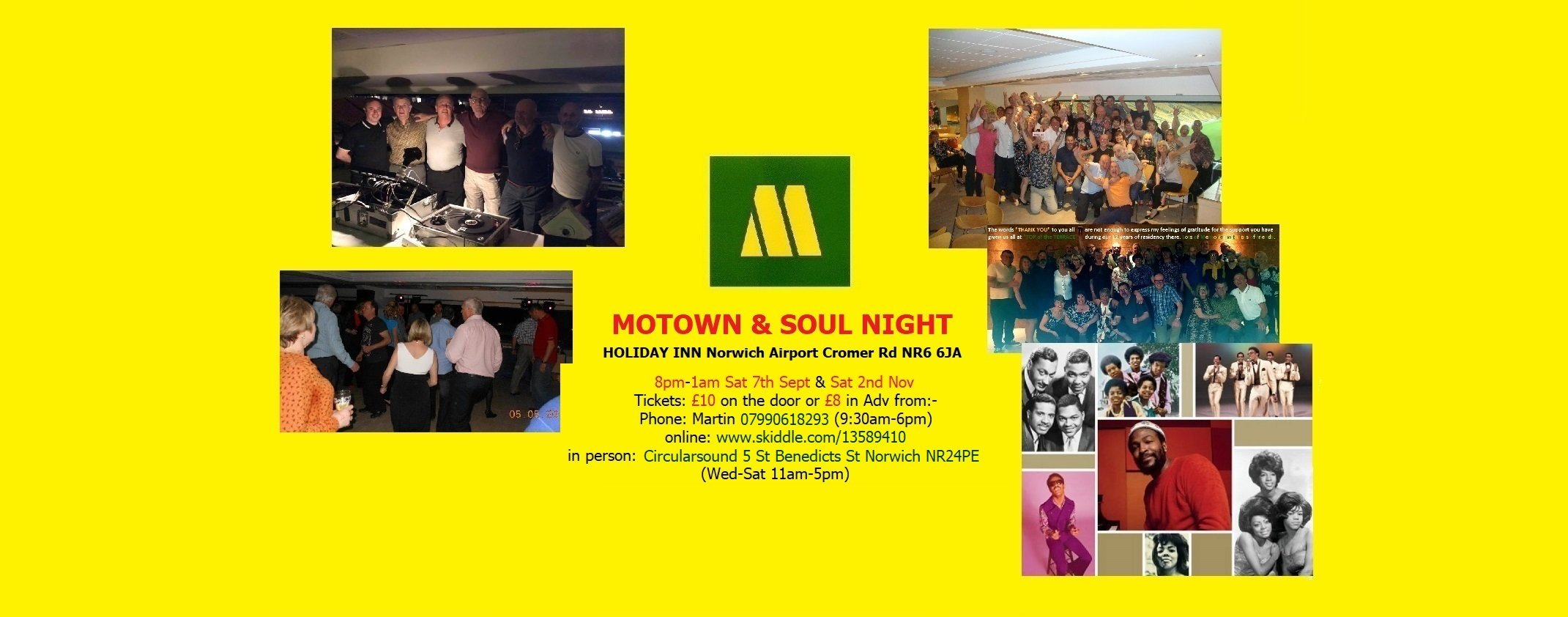 Classic 60s  70s Soul Motown And Northern flyer