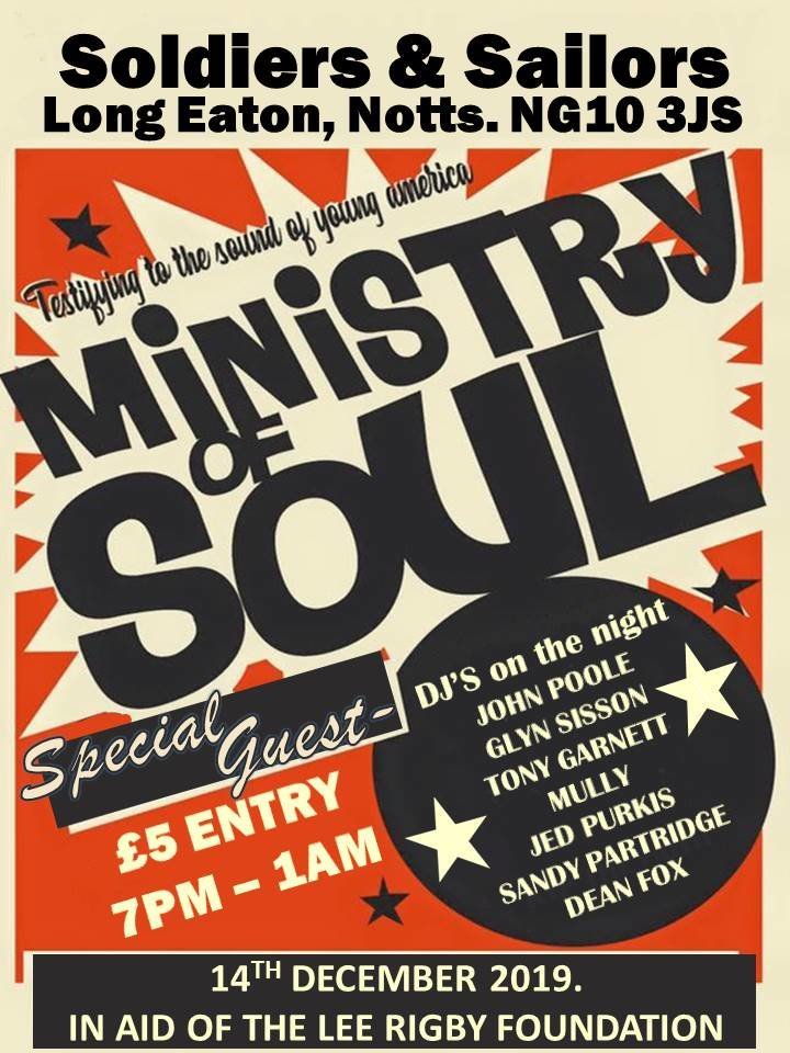 The Ministry Of Soul In Association With Mully flyer