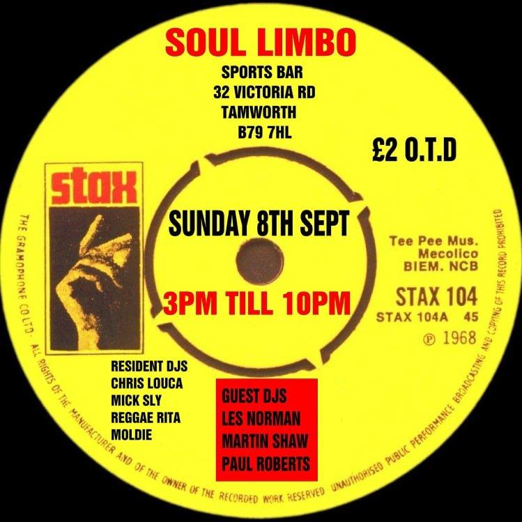 Soul Limbo Alldayer flyer