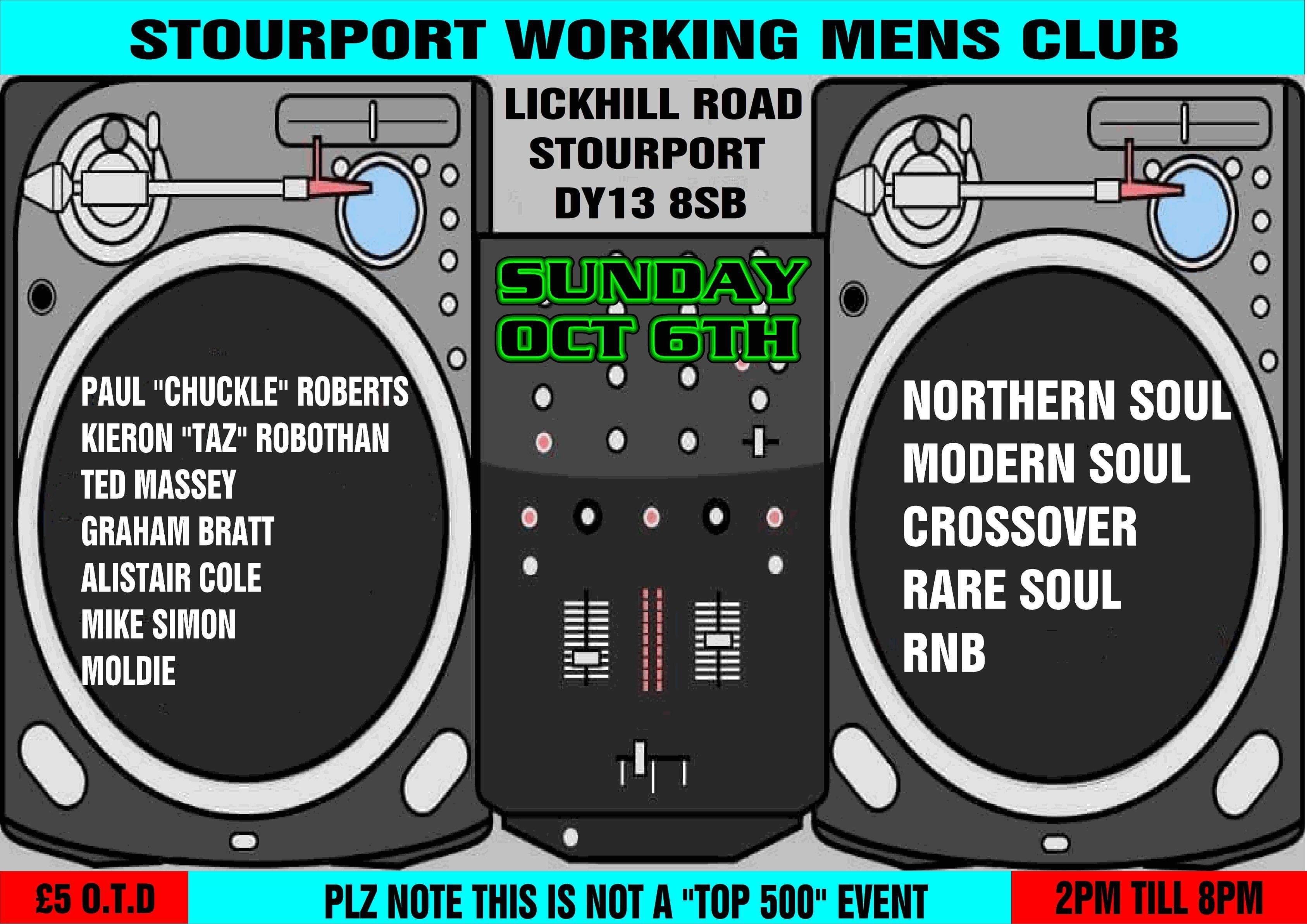 Wyre Forest Soul Club flyer