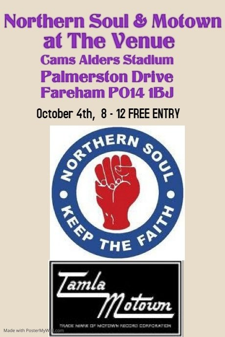 Northern Soul And Motown Night flyer