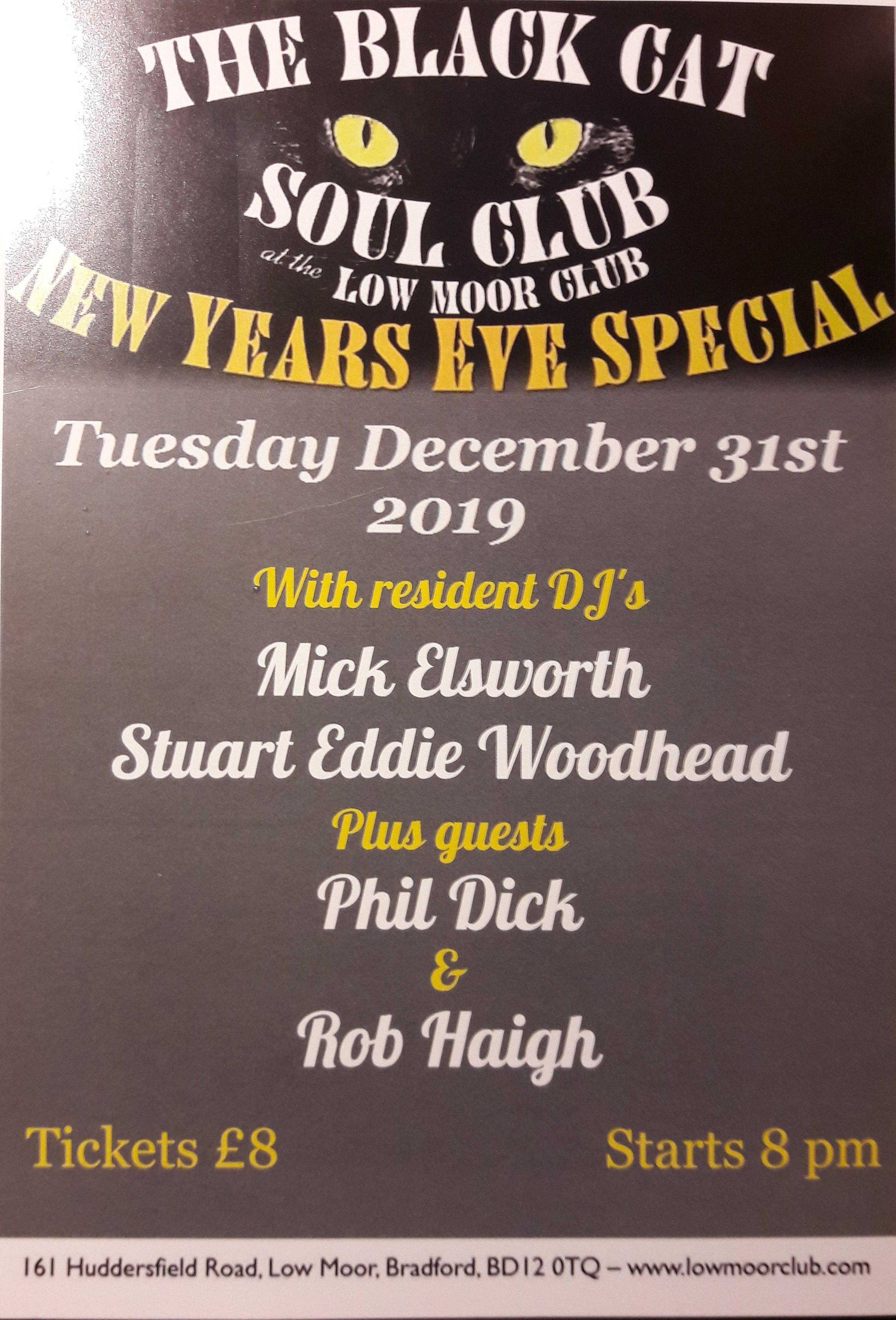 Low Moor Soul Club flyer