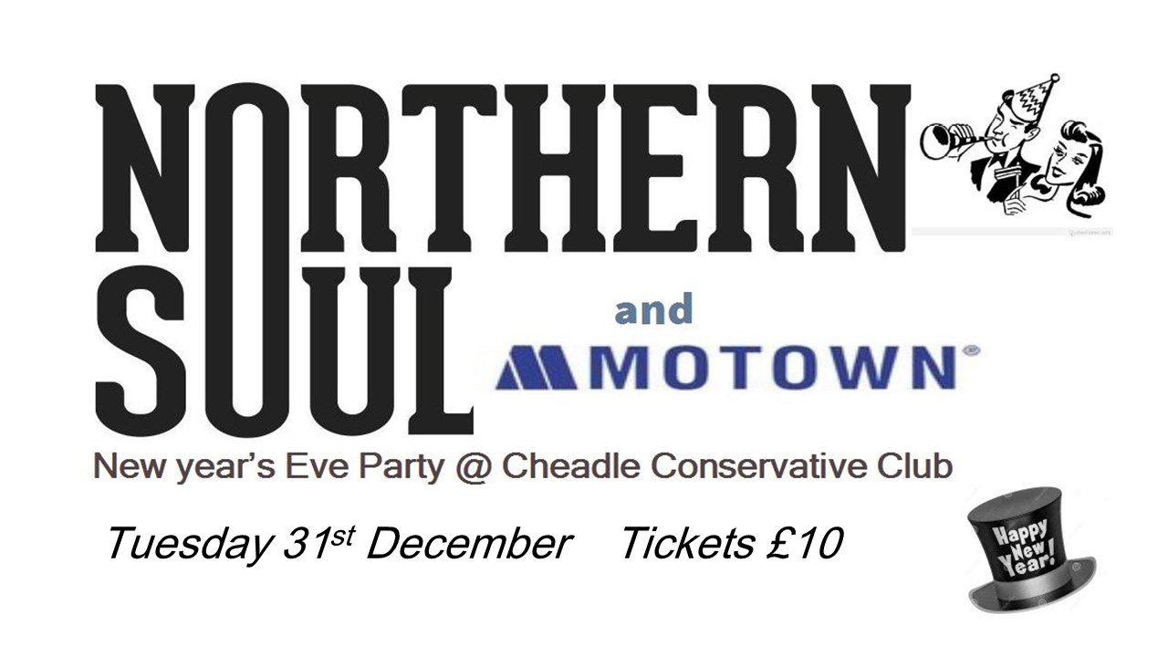 Cheadle Souls Annual Nye Party Night  Ticket Only flyer
