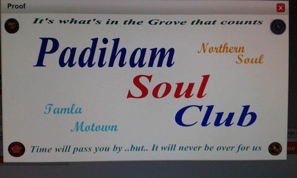 Padiham Soul Club flyer