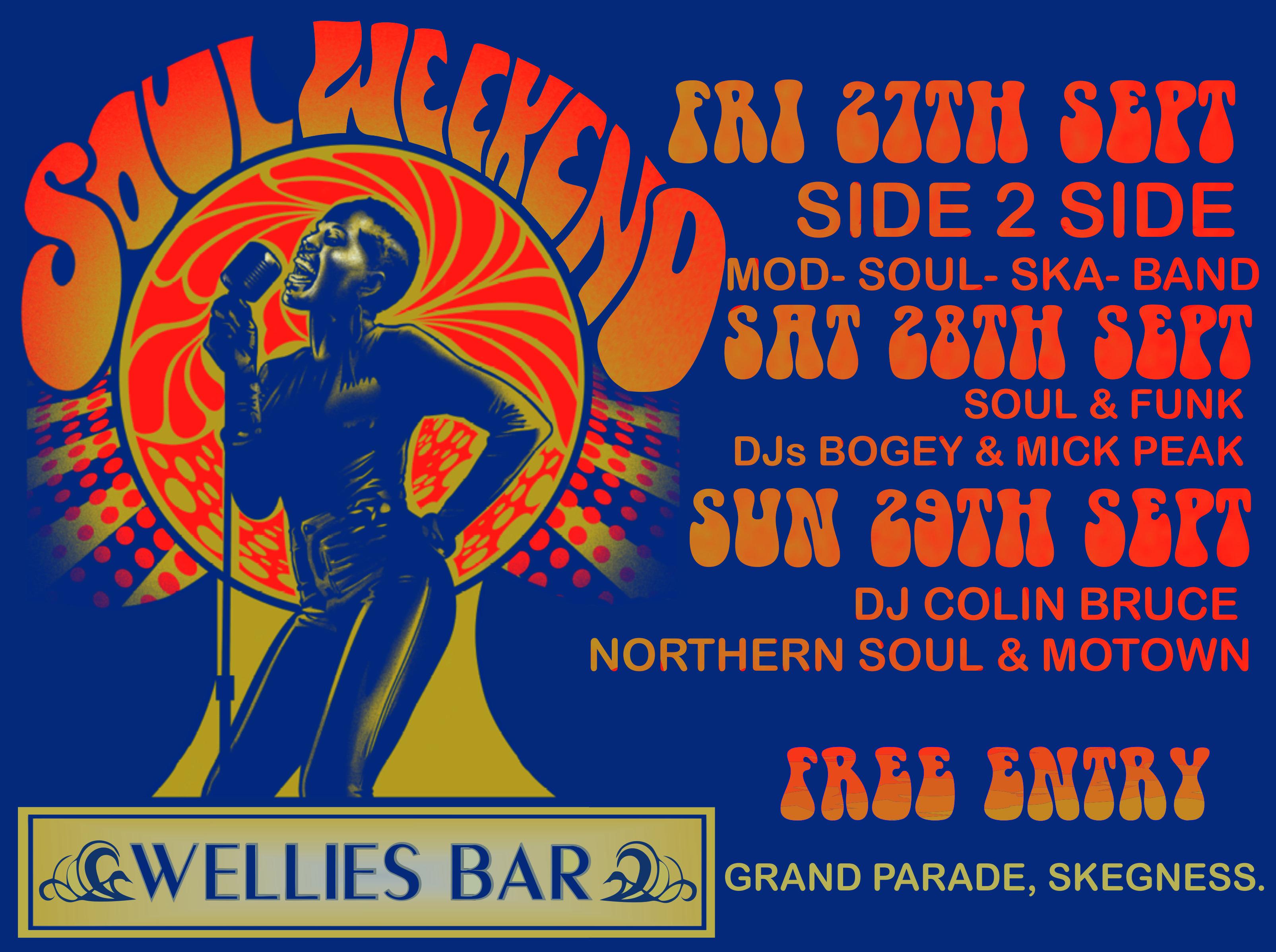 Soul And Funk Weekender flyer