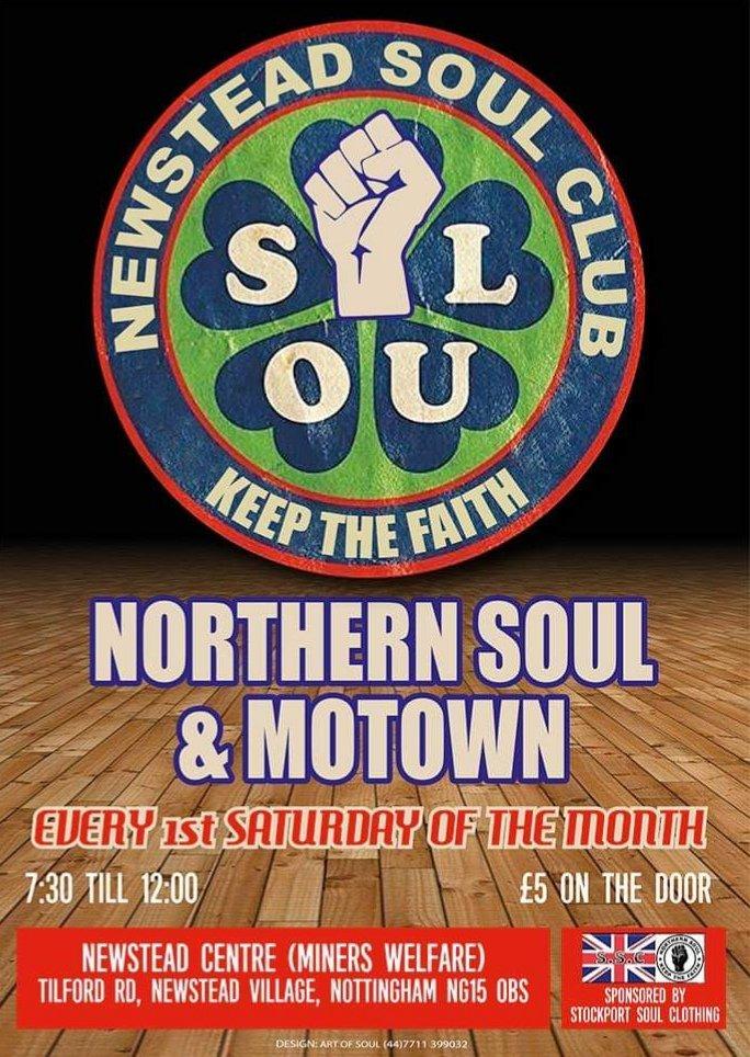 Newstead Soul Club flyer