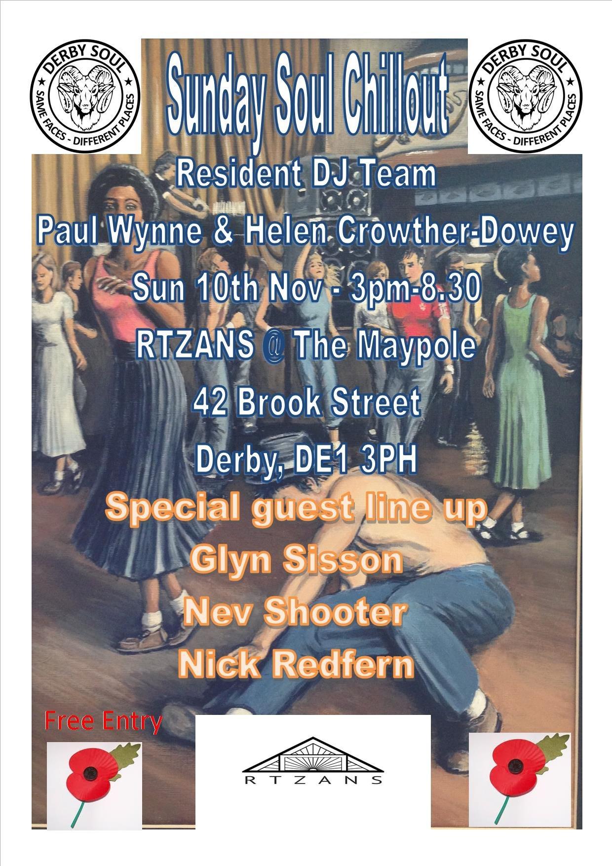 Sunday Soul Chillout flyer