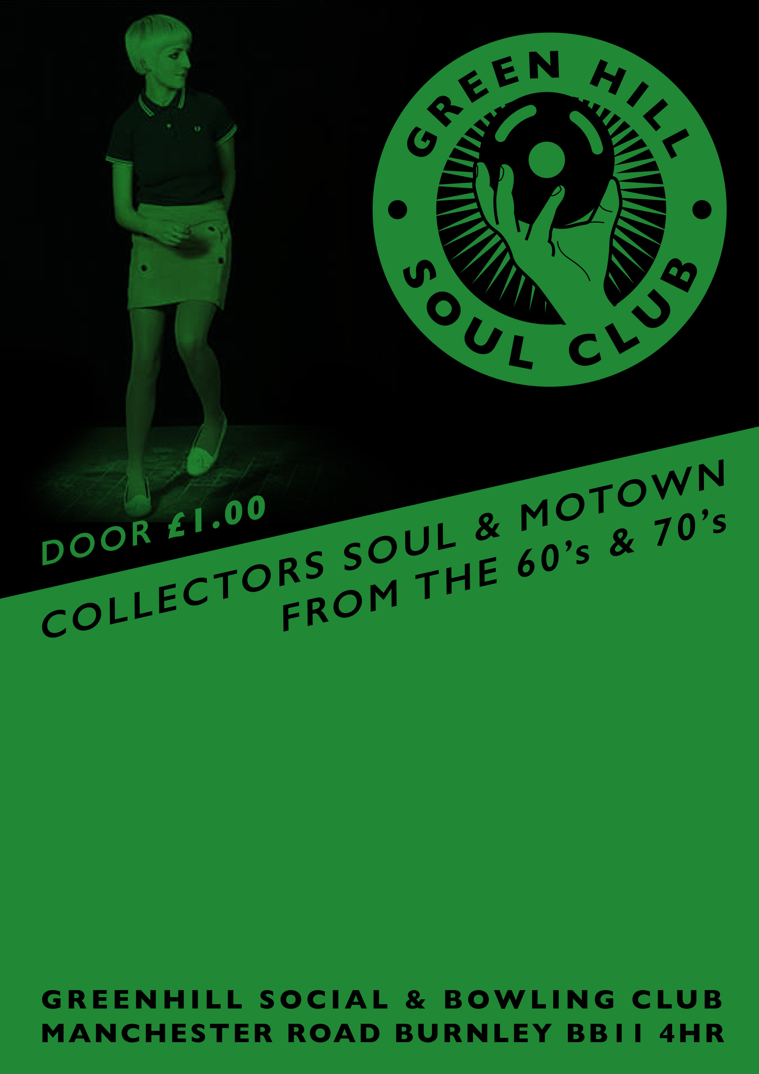 Burnley Lost Souls November All Dayer With Ginger Taylor A flyer
