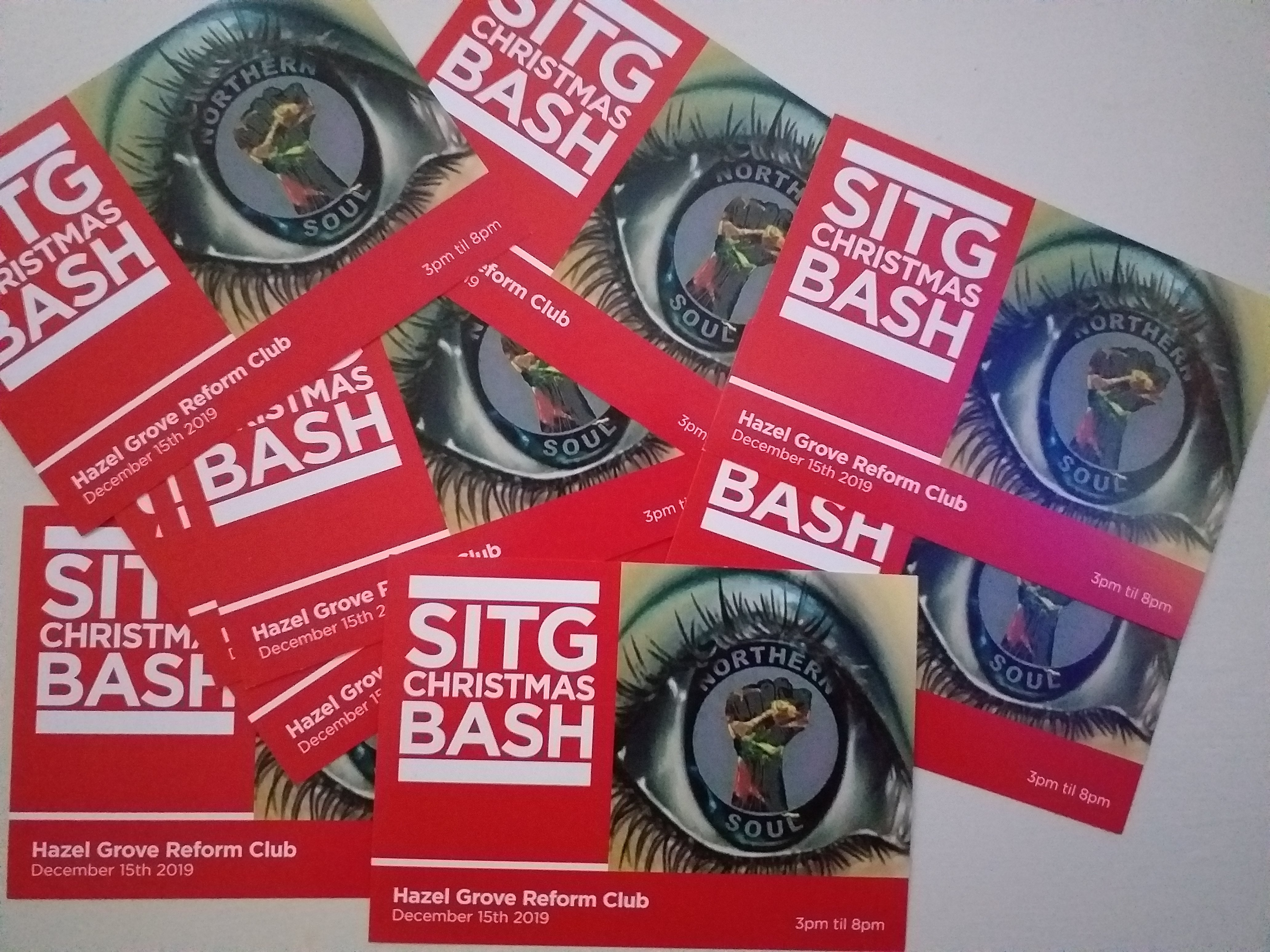 Sitg Christmas Bash  Sold Out flyer