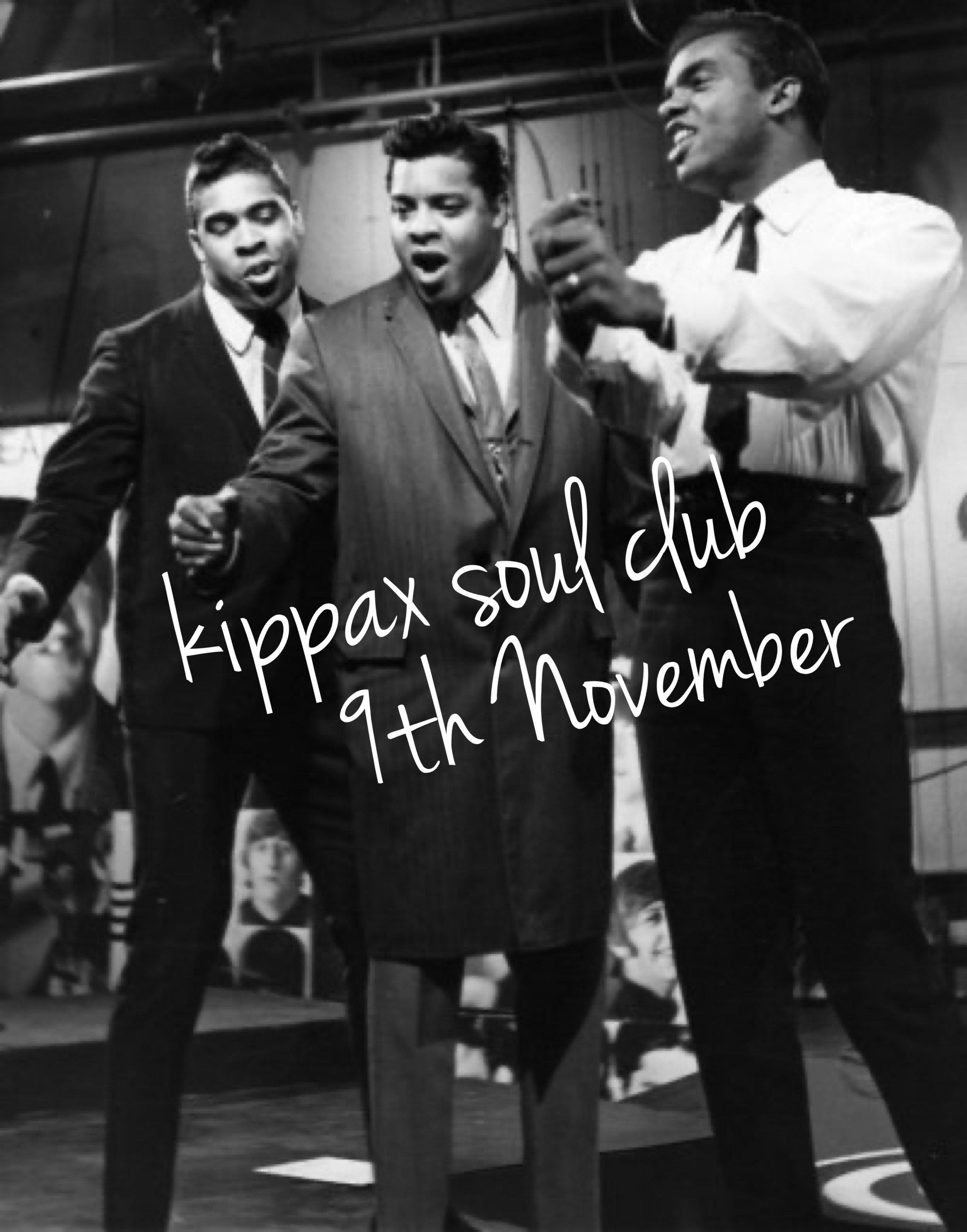 Kippax Soul Club flyer