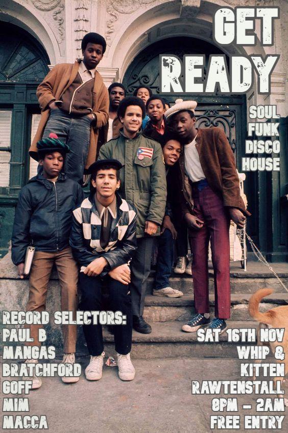 Get Ready flyer
