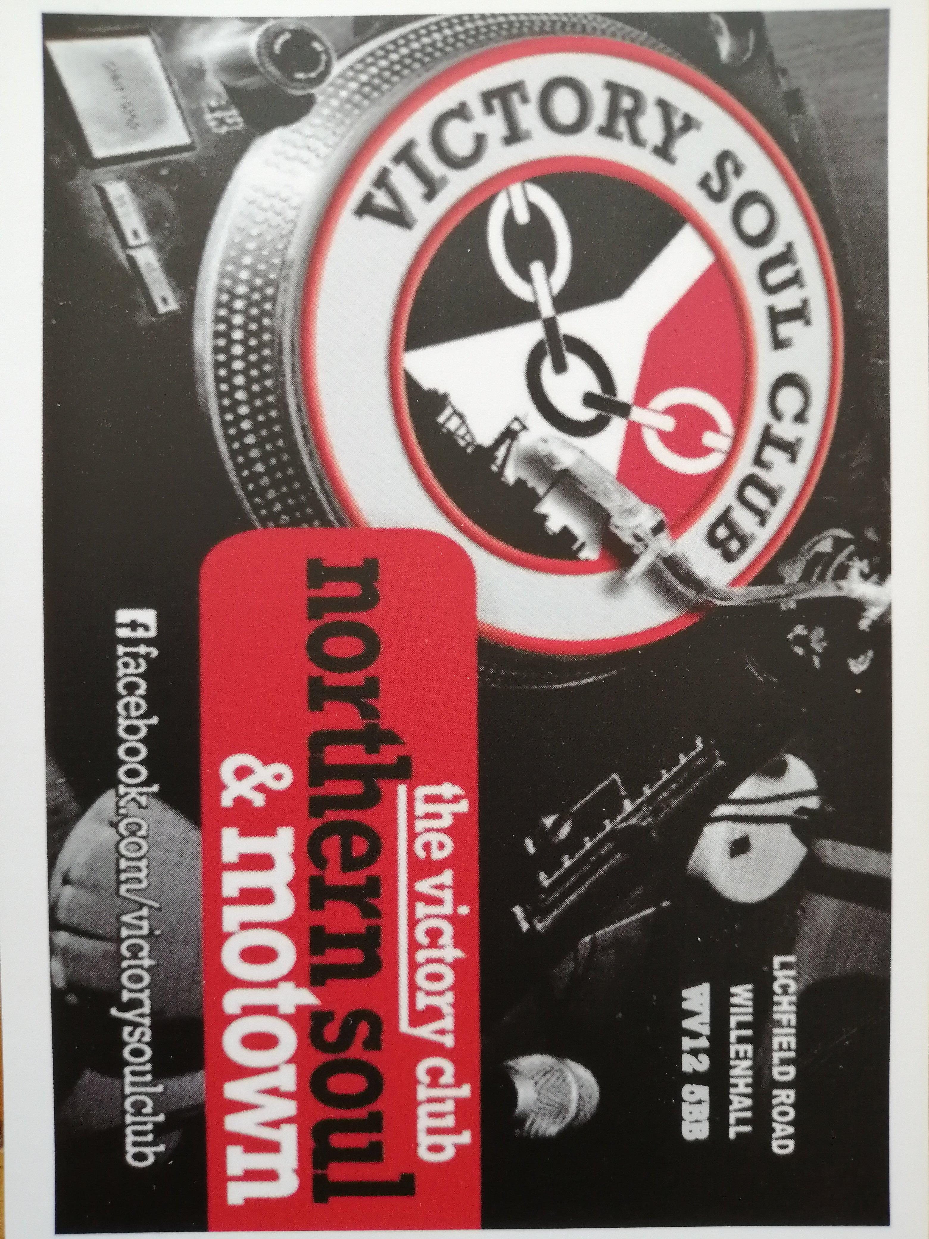 Victory Soul Club flyer