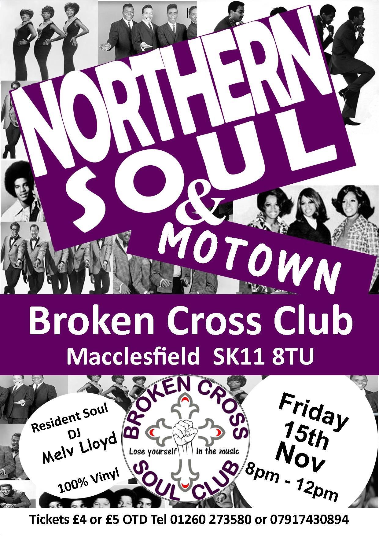 Northern Soul  Motown flyer