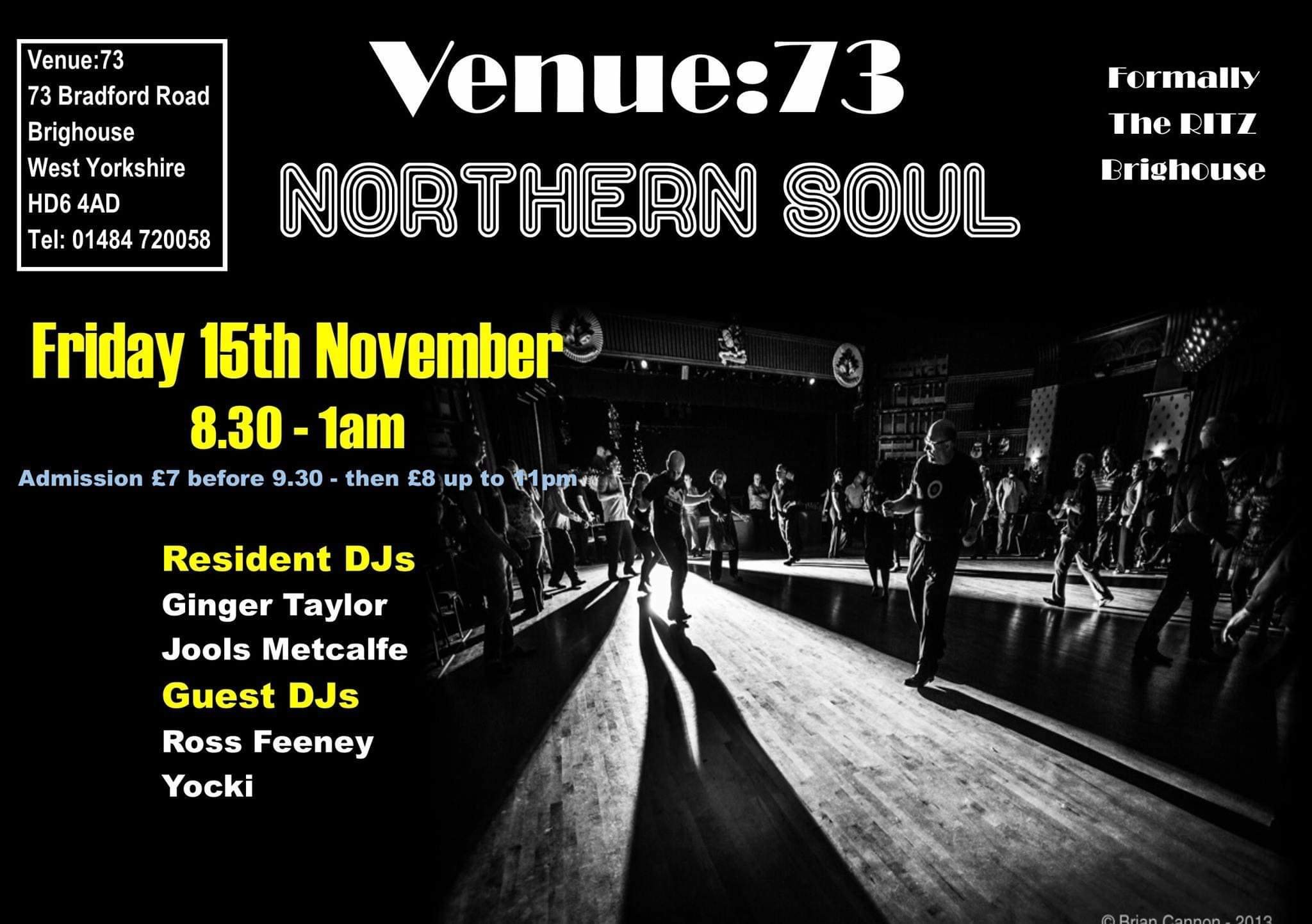 Northern Soul Motown Rnb And70s Crossover Soul Night flyer