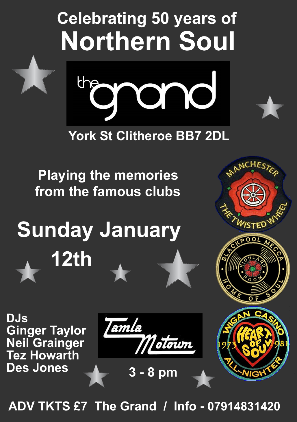 The Grand Clitheroe flyer