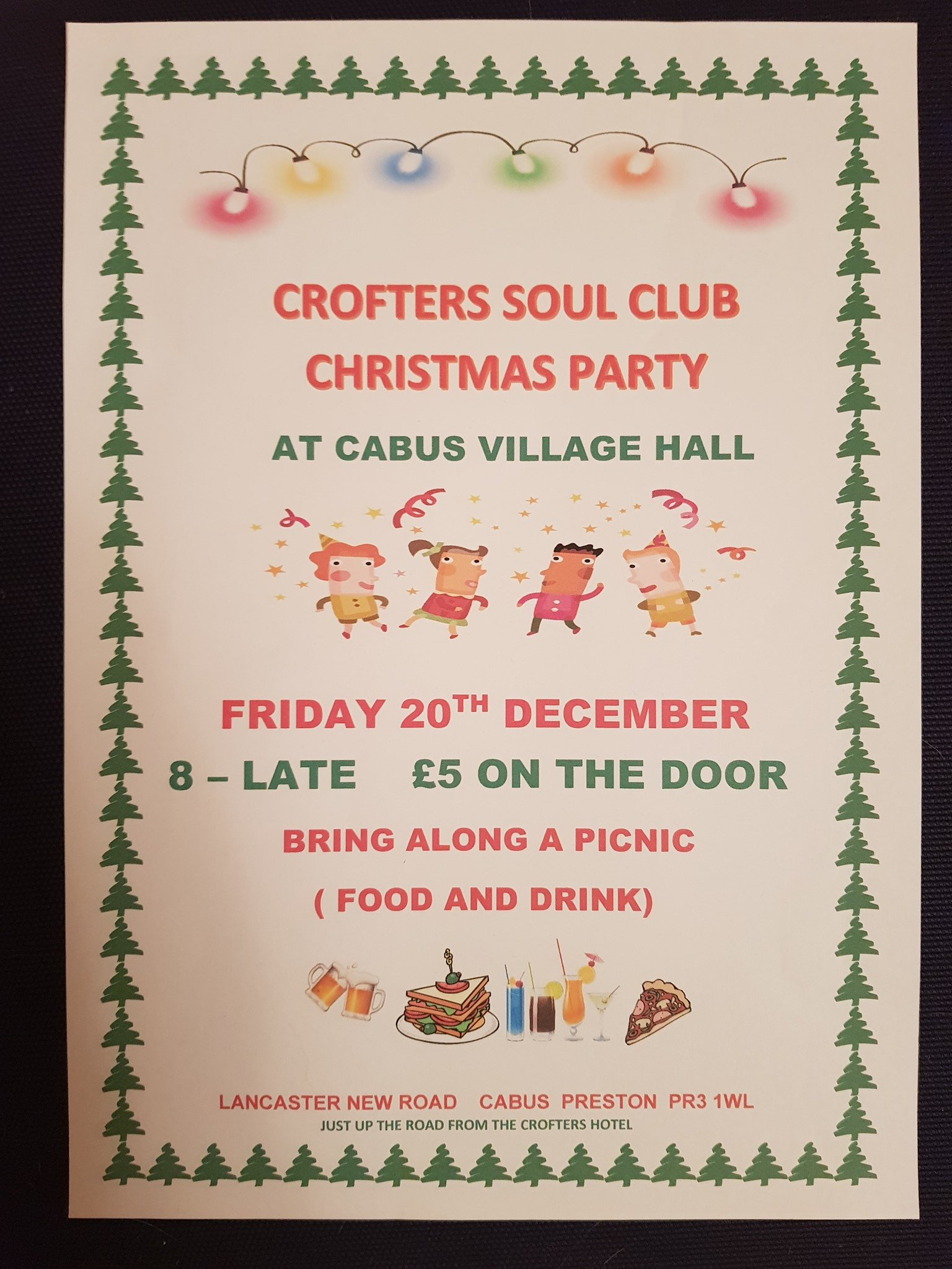 Christmas Crofters At Cabus Village Hall flyer