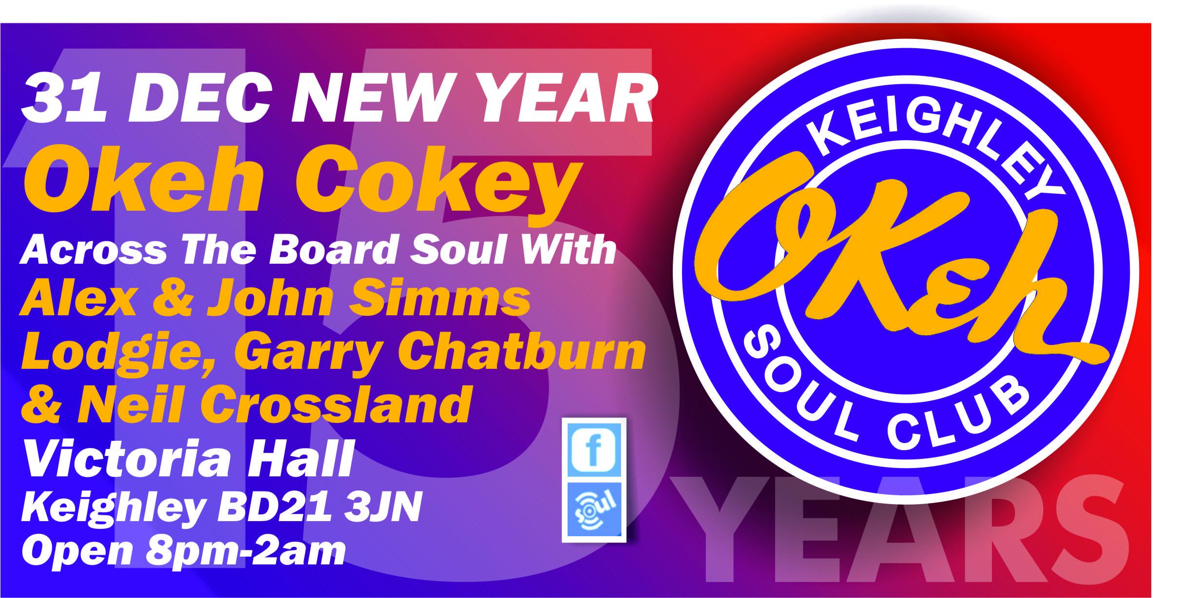 New Year Okeh Cokey flyer