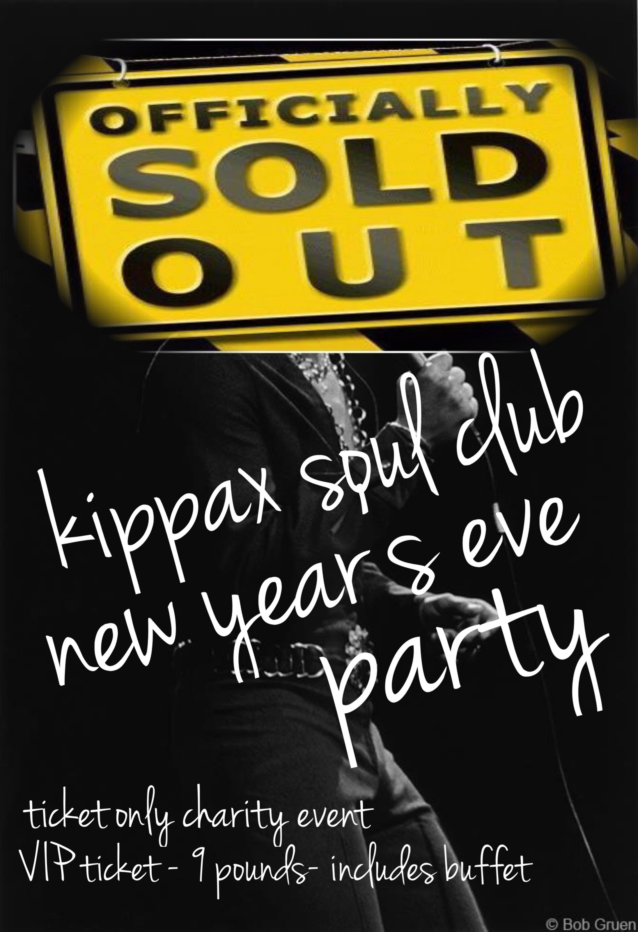 Kippax Soul Club Nye Party  Sorry Now Sold Out flyer