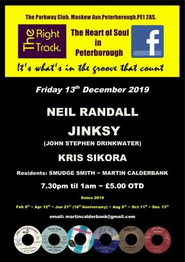 The Right Track Peterborough flyer