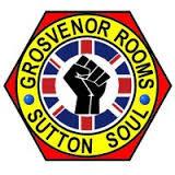 Grosvenor Room  Get The Buzz Back  flyer
