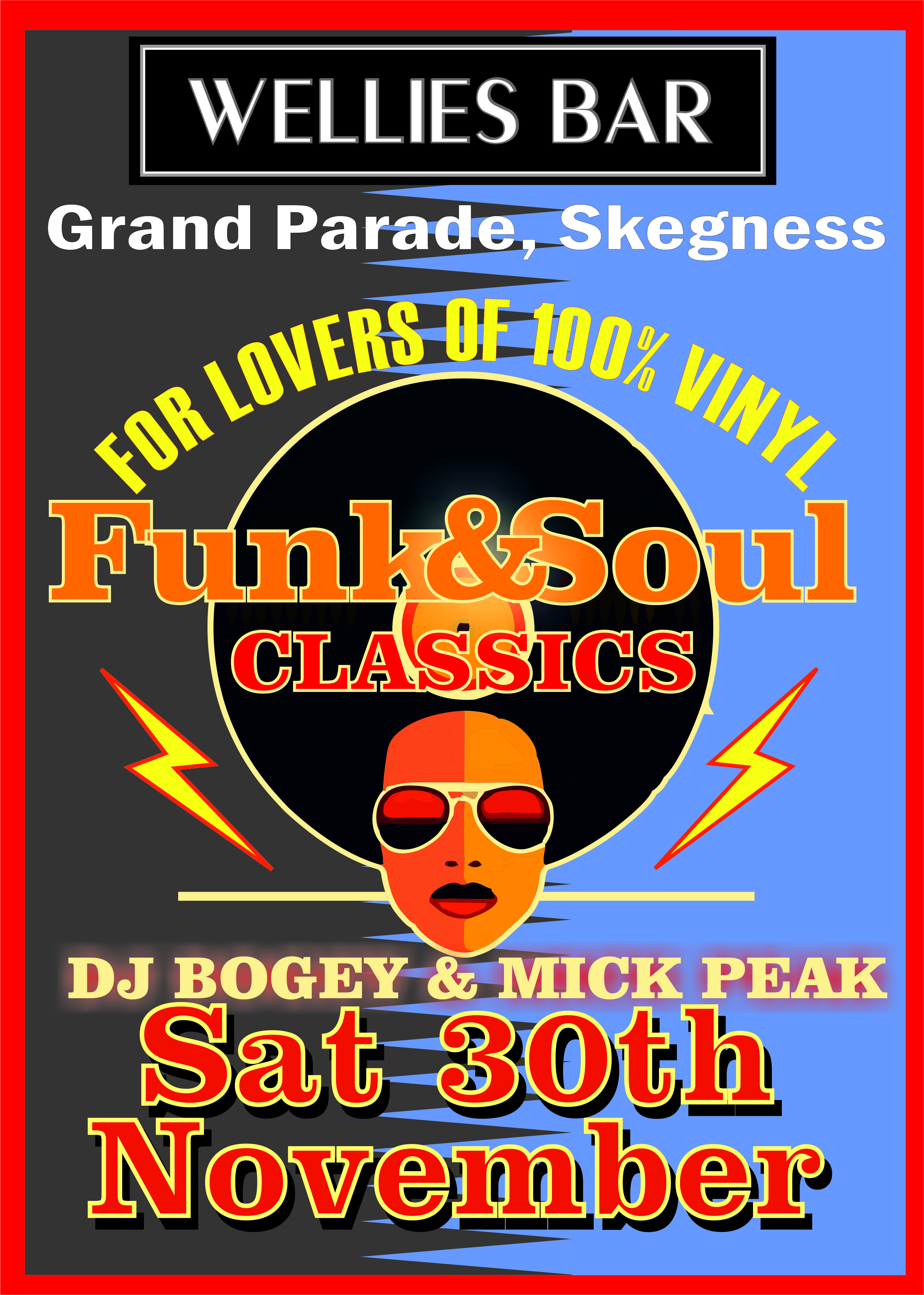 Funk And Soul flyer