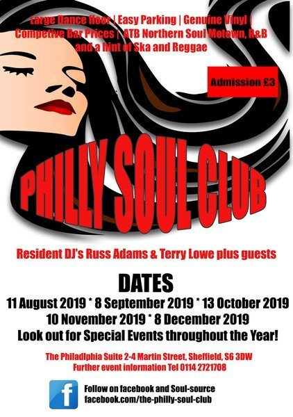 Philly Soul Club flyer