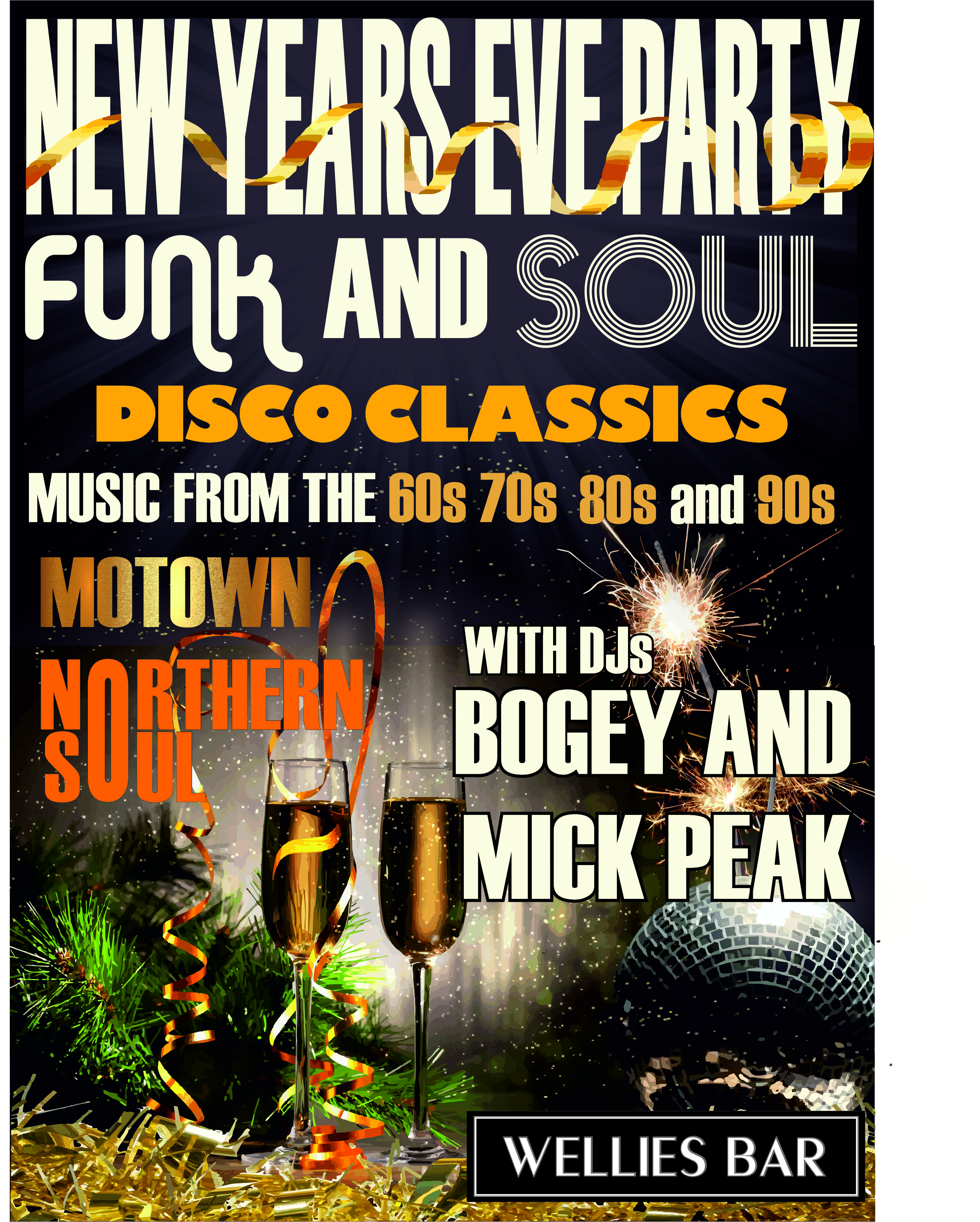Funk And Soul Nye Party flyer