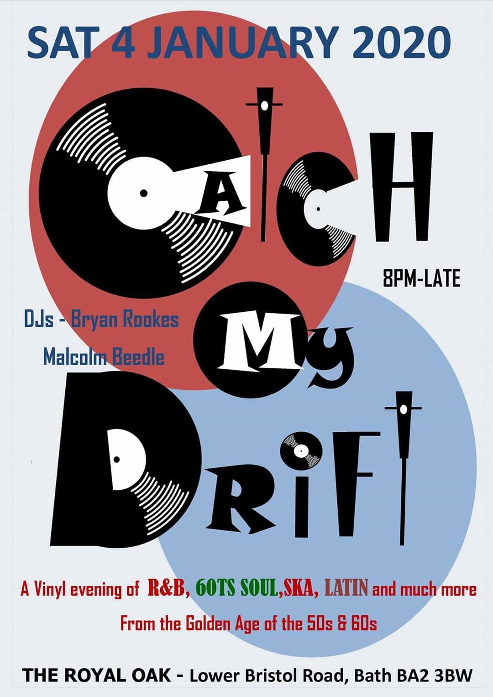 Catch My Drift Rb 60ts Soul Club flyer