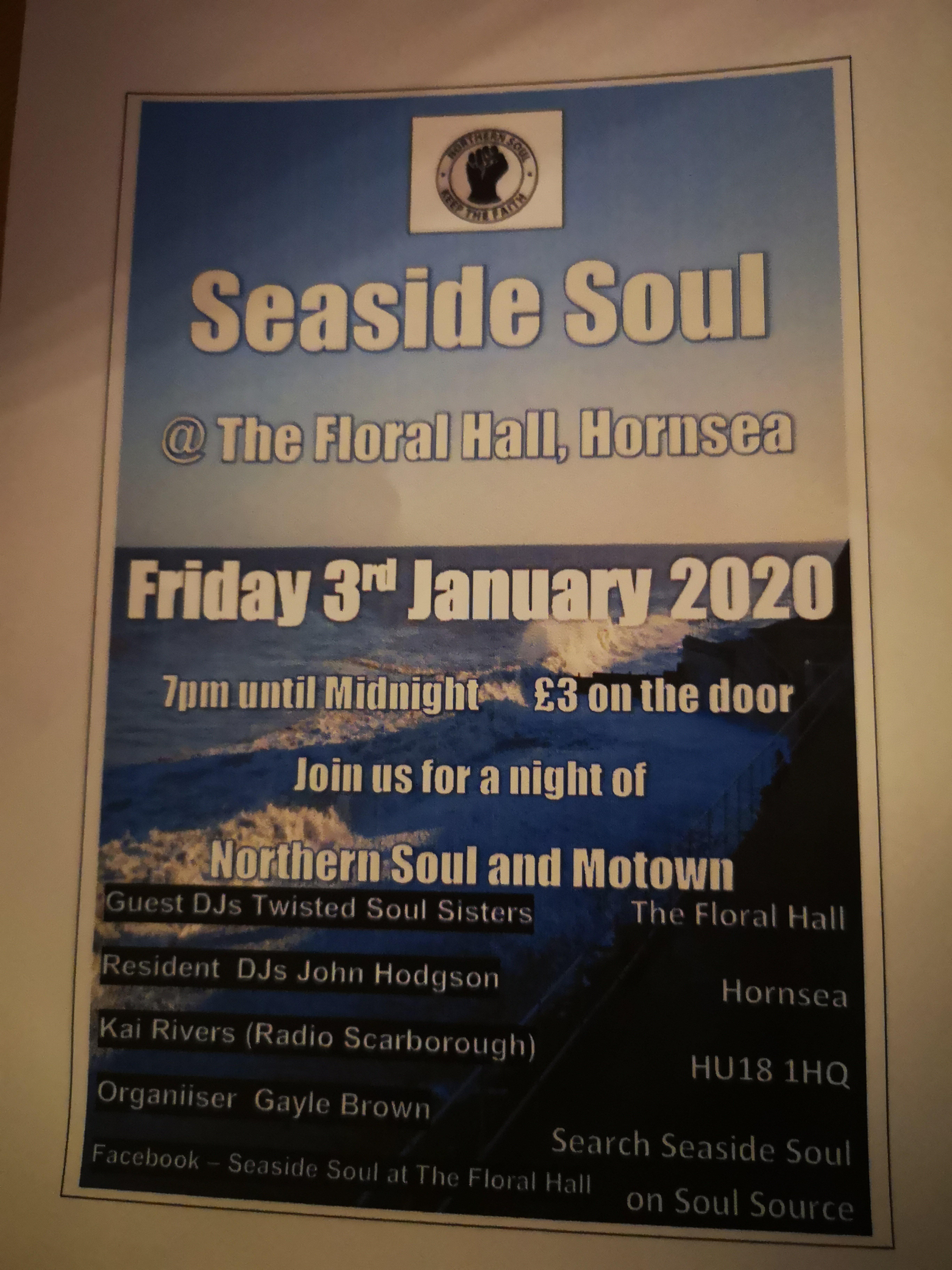 Seaside Soul At Floral flyer