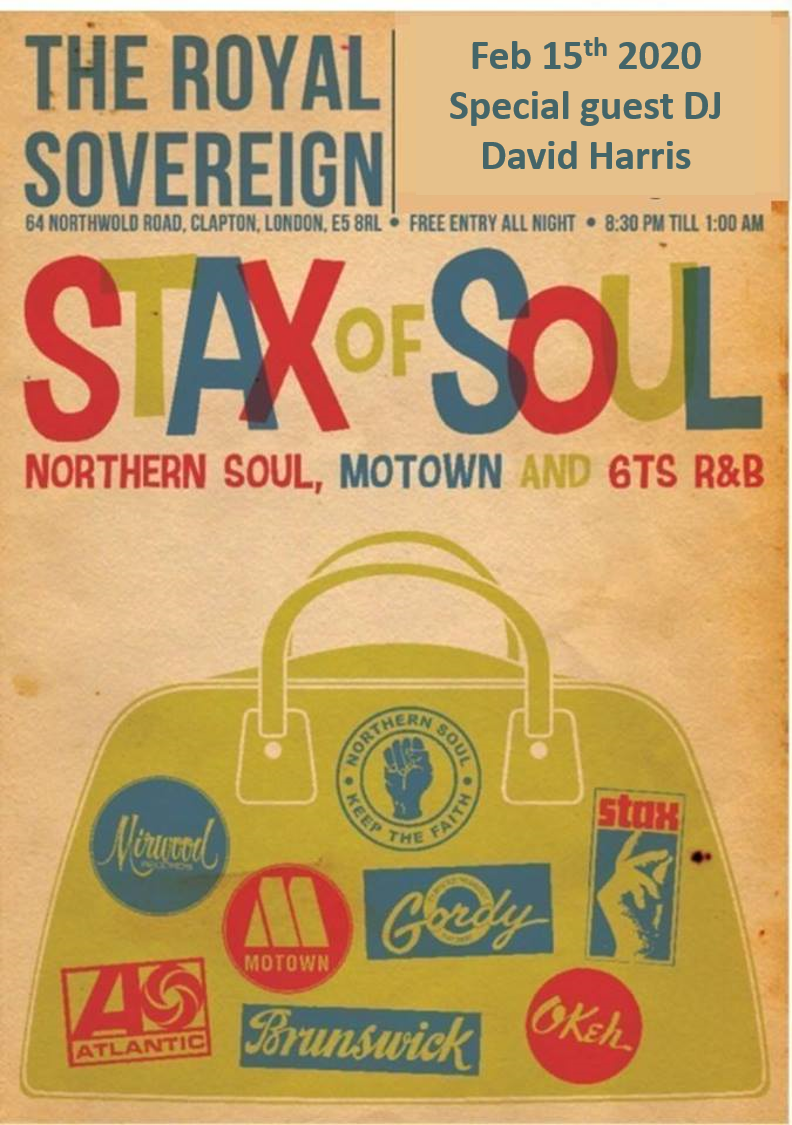 Stax Of Soul flyer
