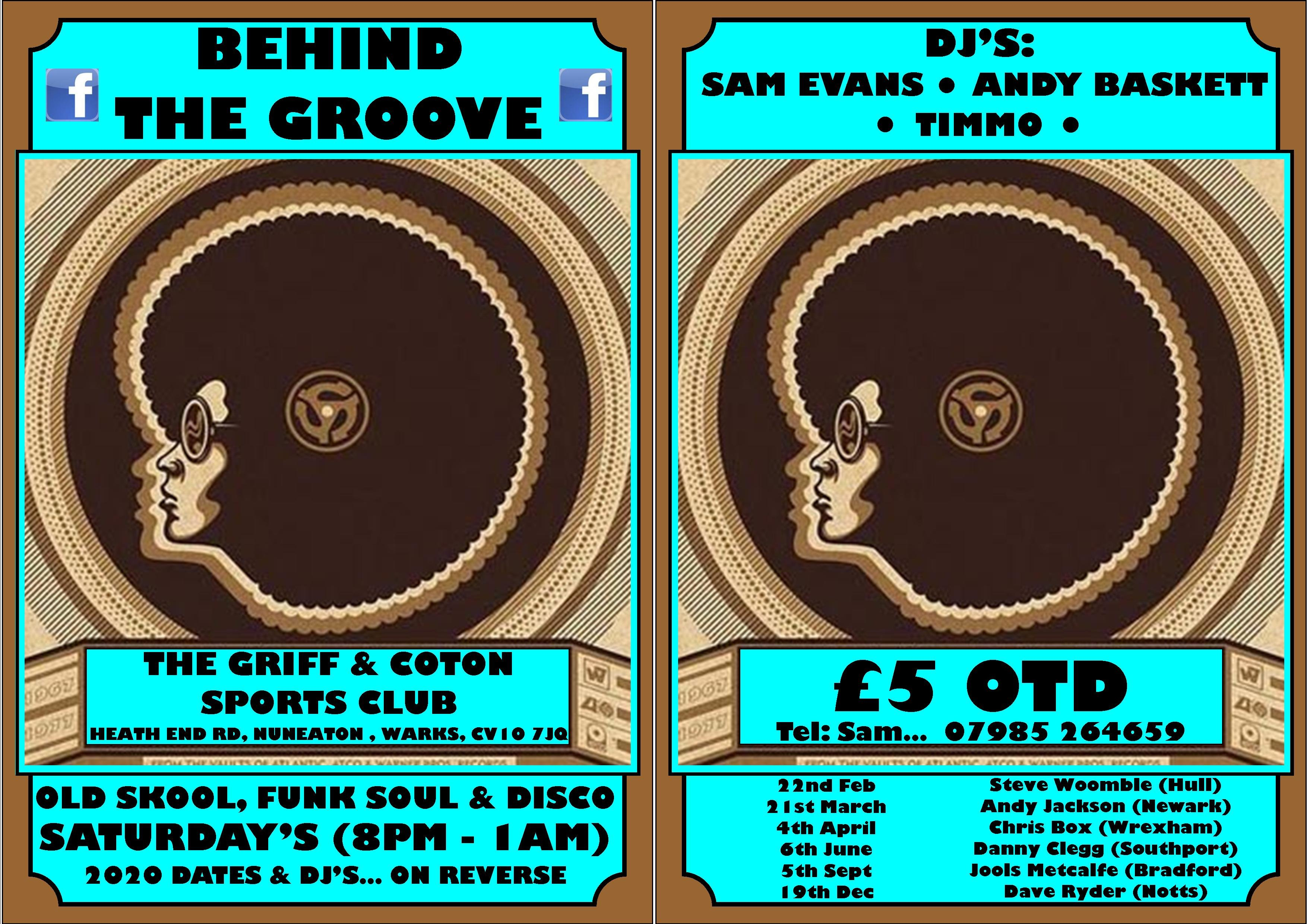 Behind The Groove flyer