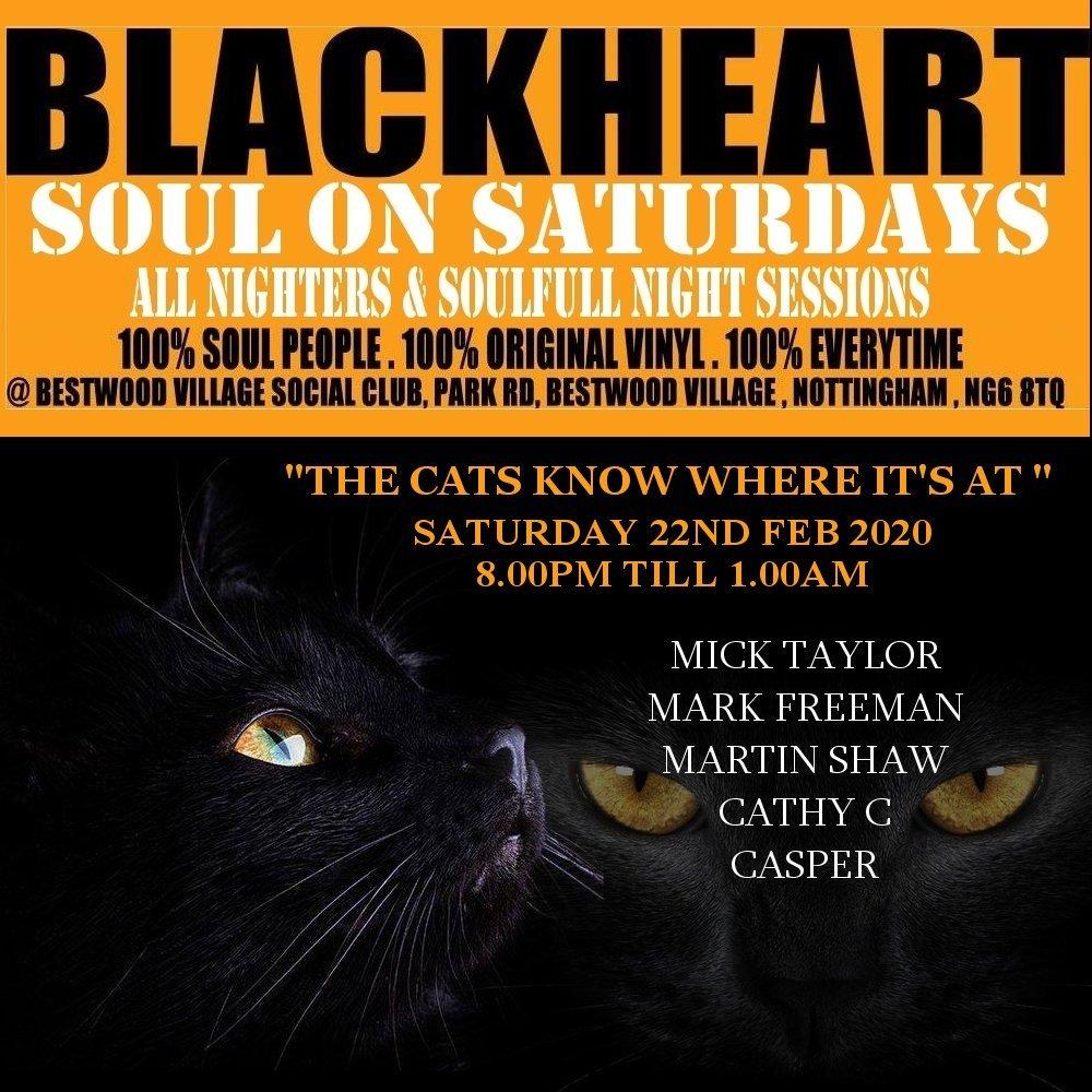 Blackheart Soul  Nottingham flyer