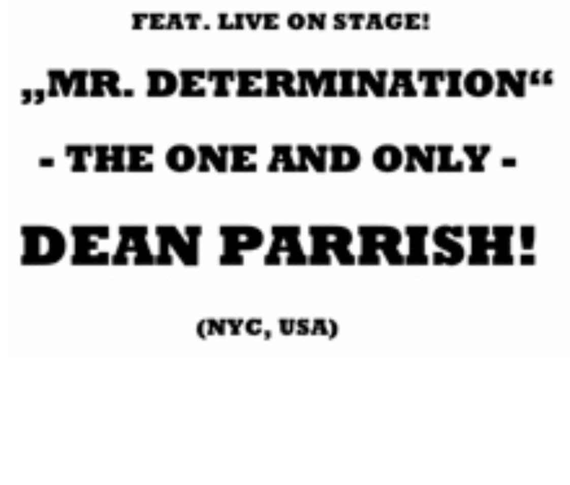 Hip City Soul Club Feat Live On Stage Dean Parrish flyer